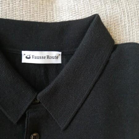 Image Polo manches longues noir