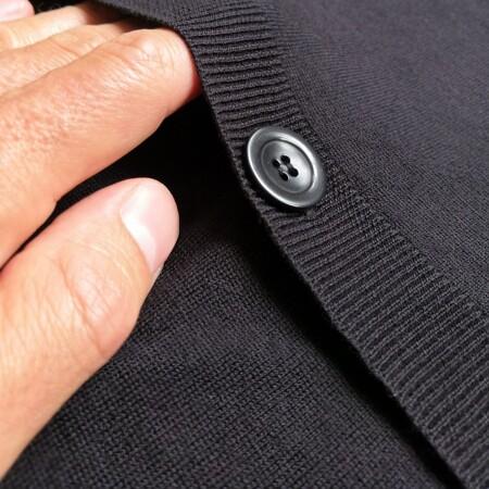 Image Polo manches courtes noir