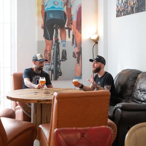 La bicicleta café à Castellon en Espagne, un eshop