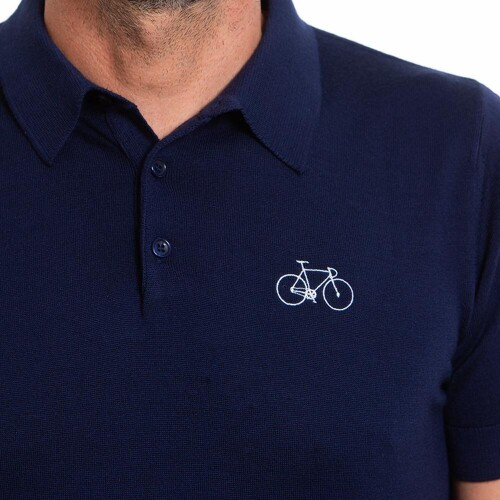 Polo manches courtes bicicleta cafe X Fausse Route