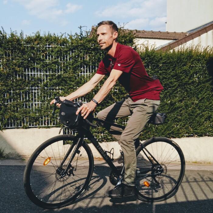 Polo de tous les jours pour vos déplacements à vélo